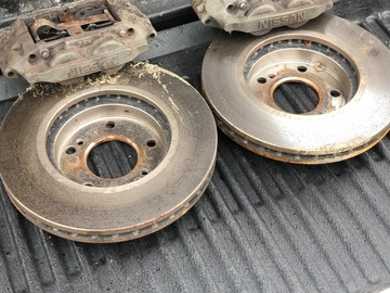 Selling with online payment: 1992 300zx z32 calipers with new rotors and pads