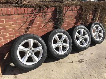 Selling: Pirelli Scorpion Snow Tires 255/55R19 on OEM Audi Rims