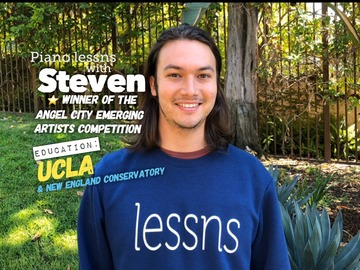 Piano Lessons - 16 hrs : 16 hrs - Piano Lessns♬ with Steven + $65 for the last lesson