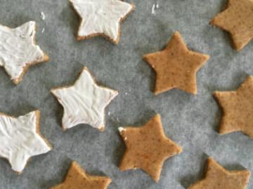 Partage: Zimtsterne – Christmas star cookies