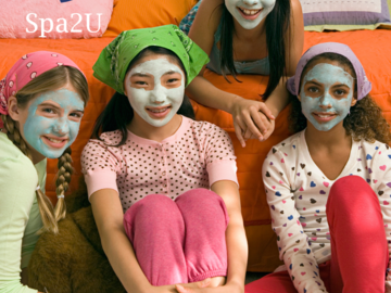 Request To Book & Pay In-Person (hourly/per party package pricing): Kid's Spa Party Package