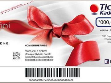 Vente: Chèques cadeaux Kadeos Infini (hors alimentation) (110€)
