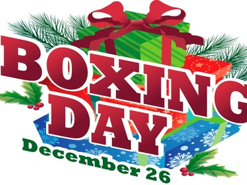 Selling: BOXING DAY 2019 READING