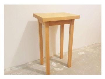 : Oak side table