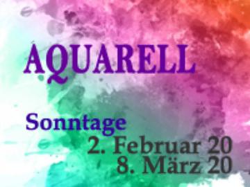 Workshop Angebot (Termine): Aquarell