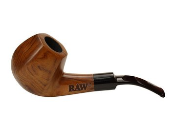Post Products: Raw Uncoated Wooden Sherlock Pipe