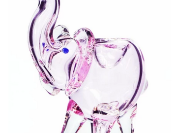 Post Products:  Pink Elephant Pipe by SWRV Glass