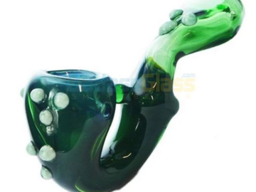 Post Now:  Emerald Glass Sherlock Pipe