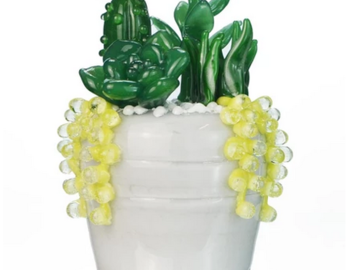 Post Now:  Succulent Bowl by Empire Glass