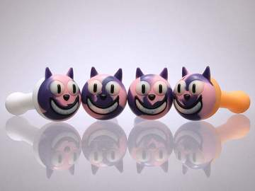 Post Products: Cheshire Cat Silicone Hand Pipes