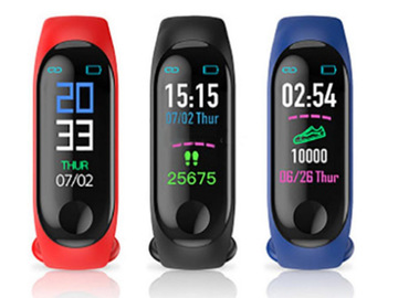 Buy Now: 50 PCS M4 Smart  Sport  Fitness Watch