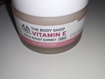 Venta: The body shop vitamin E Aqua boost sorbet 48h