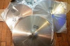 "Selling with online payment: Paiste Giant Beat Set BRAND NEW 24, 20, 18, 15"" hats"