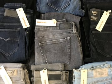 Buy Now: DIESEL Womens Jeans 35 PCS