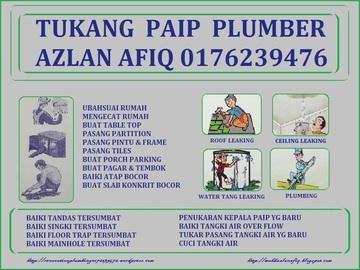 Services: tukang paip plumber 0176239476 azlan afiq wangsa maju