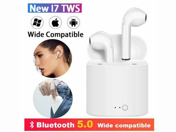 Buy Now: 20 X i7 TWS Mini Bluetooth Earphones Wireless Headphones Earbuds