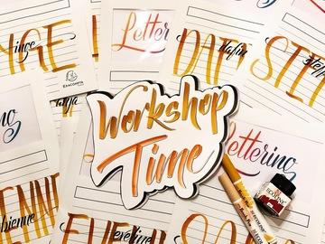 Workshop Angebot (Termine): Grundkurs Hand- & Brushlettering