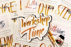 Workshop Angebot (Termine): Grundkurs Hand- & Brushlettering