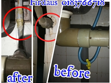 Services: Tukang paip FIRDAUS 0183766718 area subang jaya