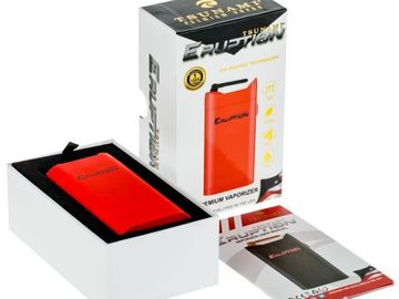 Post Products:  Tsunami Eruption 3-in-1 Vaporizer Kit | Red