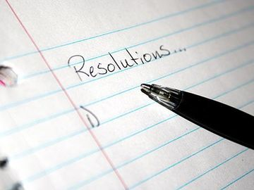 Angebot: NEW YEARS RESOLUTION