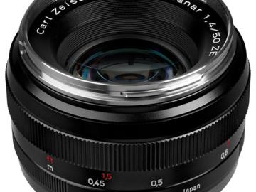 Vermieten: ZEISS EF Planar T* 50mm f/1.4 ZE
