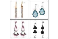 Buy Now: 280 Pairs of Earrings - Many Fashionable Styles - Retail Ready