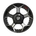 Selling: 5 lug Brushed Black Aftermarket Wheels fit Ram-Dodge Jeep GM Ford