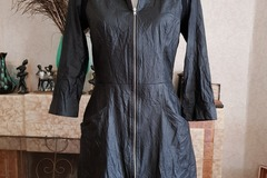 Selling: Sylvester Leather-Look Dress