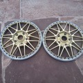 Selling: JDM FORGED Work Rezax 5x120 FACES 17 inch 3PIECE WHEEL PARTS