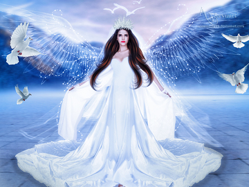 Selling: Christmas Angel  Guidance Love Reading