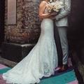 Ilmoitus: Allure Bridals upea pitsinen hääpuku
