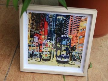 : Tram road - Art Print