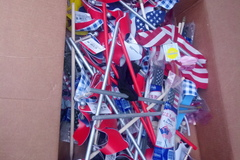Make An Offer: 20 new patriotic yard windmills, flags, yard sticks
