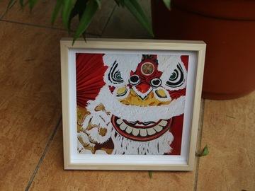 : Lion Dance - Art Print