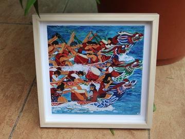 : Dragon Boat Race - Art print