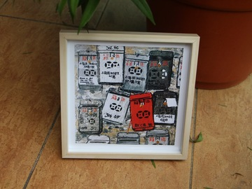 : Old mailboxes - Art Print