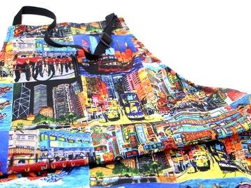 : Hong Kong Memories - Printed apron