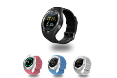 Buy Now: 40 PCS Y1 Smart Watches Bluetooth Round Touch Screen Round Face