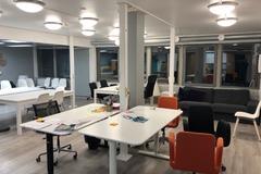 Vuokrataan: Office Space/Toimistotila ylimmässä kerroksessa Vallila