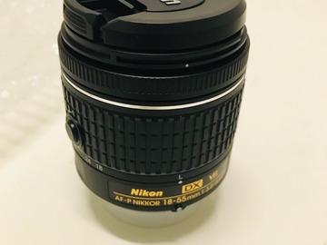 Myydään: Brand new Nikkor 18-55mm f3.5-5.6 VR lens (Nikon)