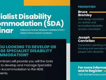Accommodation: Specialist Disability Accommodation Seminar