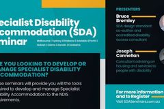 Accommodation: Specialist Disability Accommodation Seminar