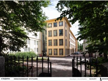 Renting out: Työpöytäpaikka Hietalahden Tilajakamossa