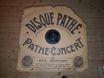 Vente: Rare et ancien disque PATHE CONCERT Ø 50 cml