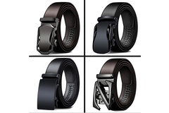 Buy Now: 100*Men's automatic buckle pants belt fashion business leisure