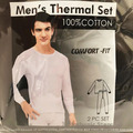 Buy Now: Men's Soft Cotton Thermal 2 pc Set