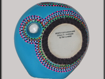 "Selling with online payment: American Percussion's "" Thumb Drum ""  ceramic"