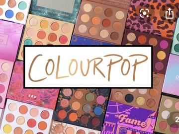 Buscando: Paletas colourpop
