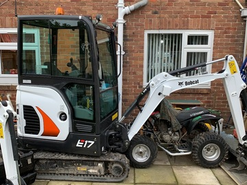 Daily Equipment Rental: Mini excavator